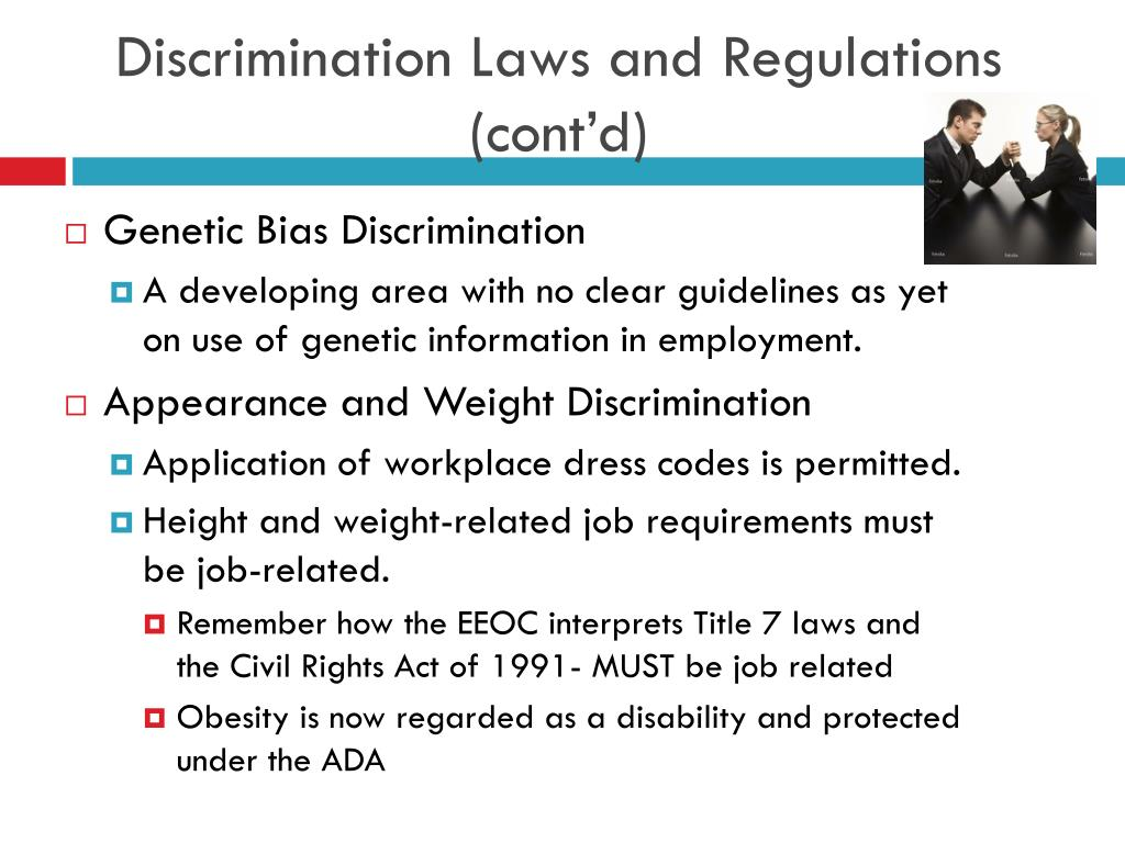 PPT - Legal Framework of Equal Employment PowerPoint