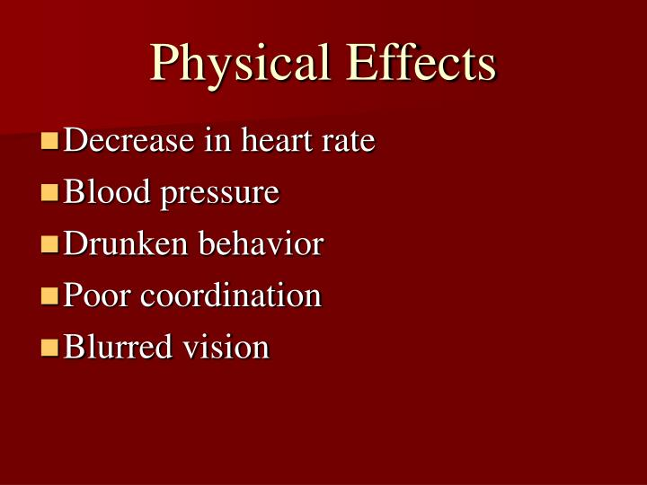 Physical Effects