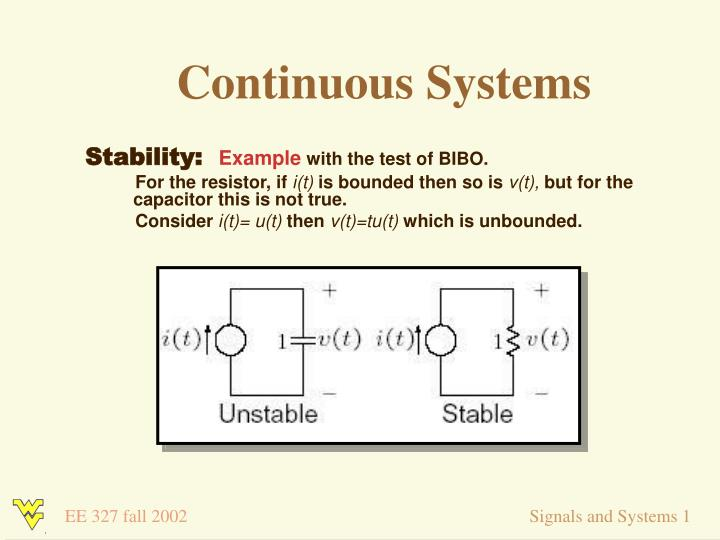 Ppt Signals And Systems 1 Lecture 7 Dr Ali A Jalali September 4