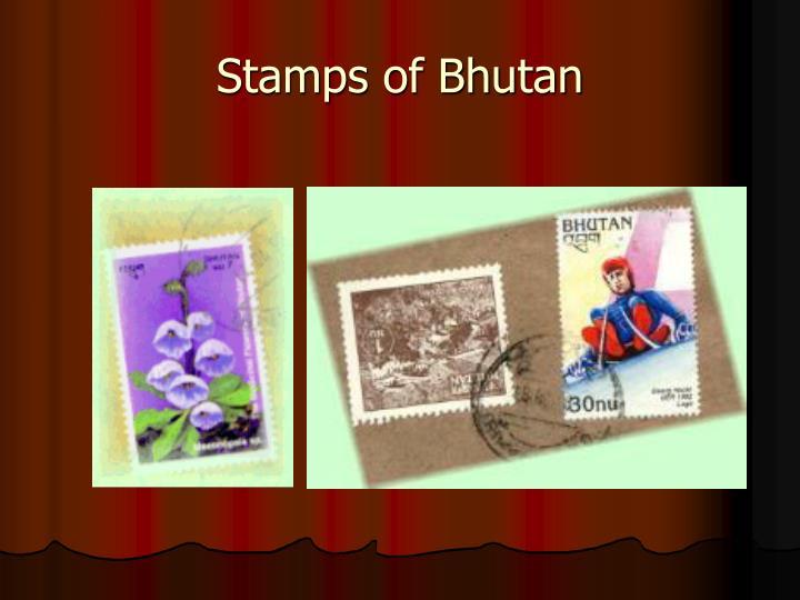 Stamps of Bhutan