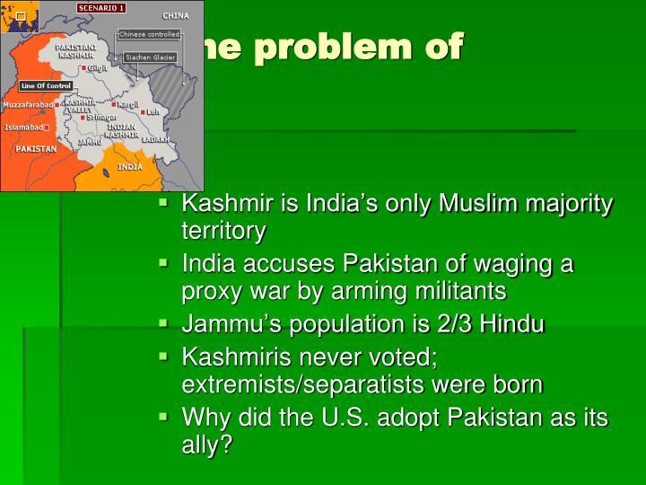 The problem of Kashmir