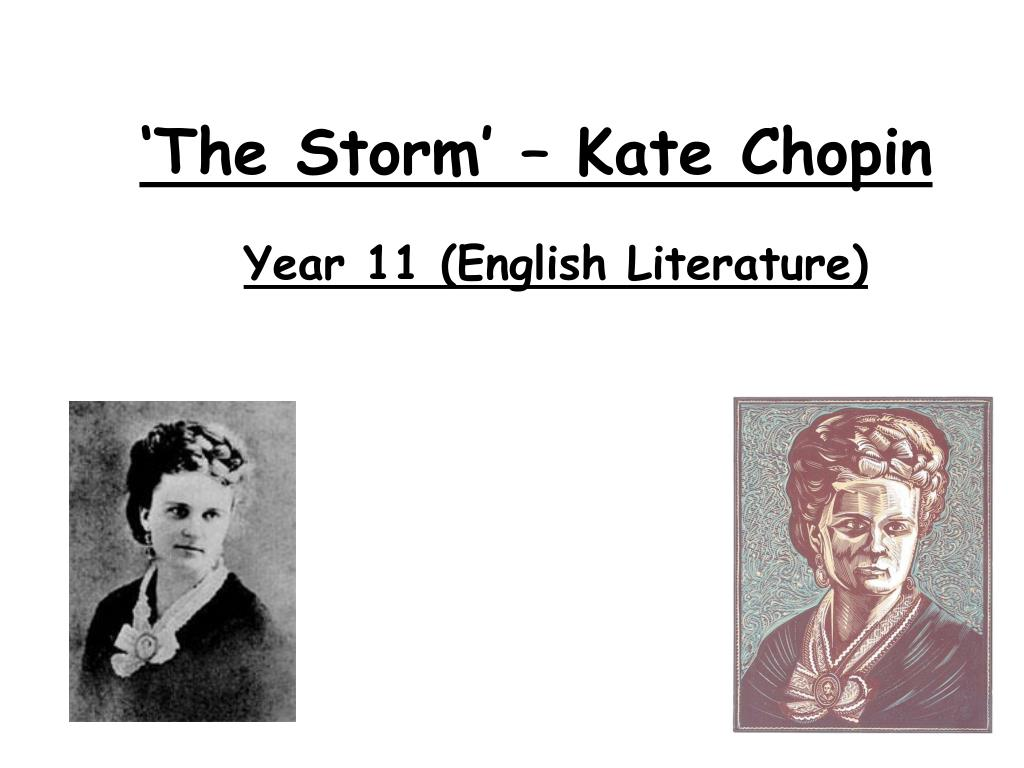 summary of the storm kate chopin
