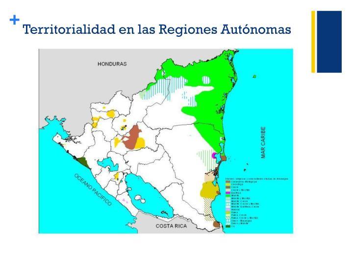Territorialidad en las regiones aut nomas