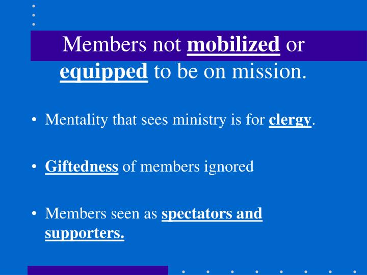 Members not