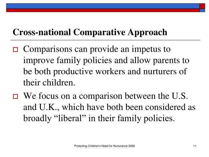 Cross-national Comparative Approach
