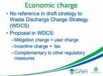 economic charge