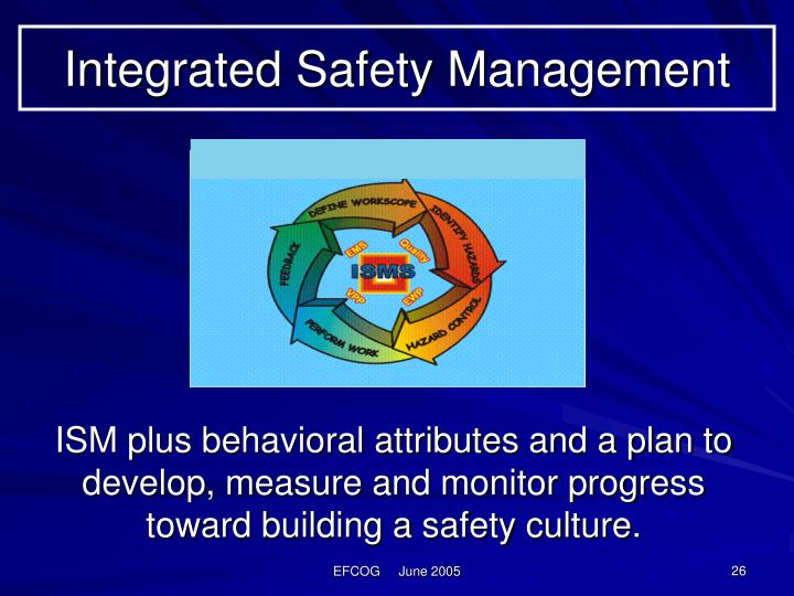 Integrated Safety Management