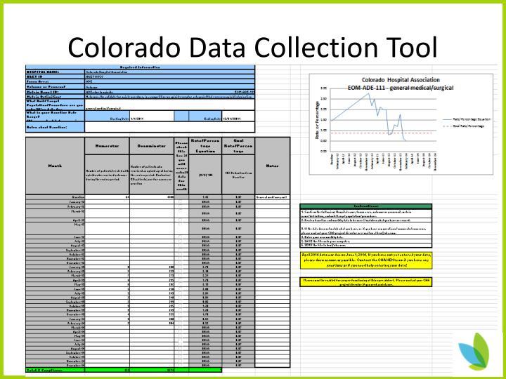 Colorado Data Collection Tool