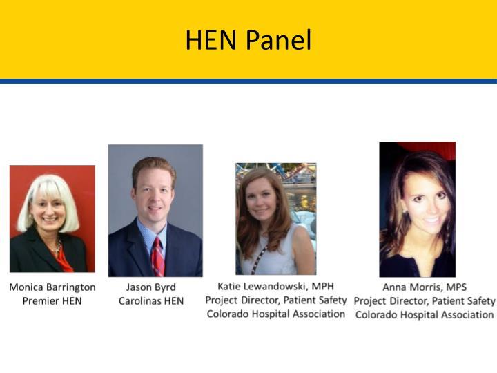 HEN Panel