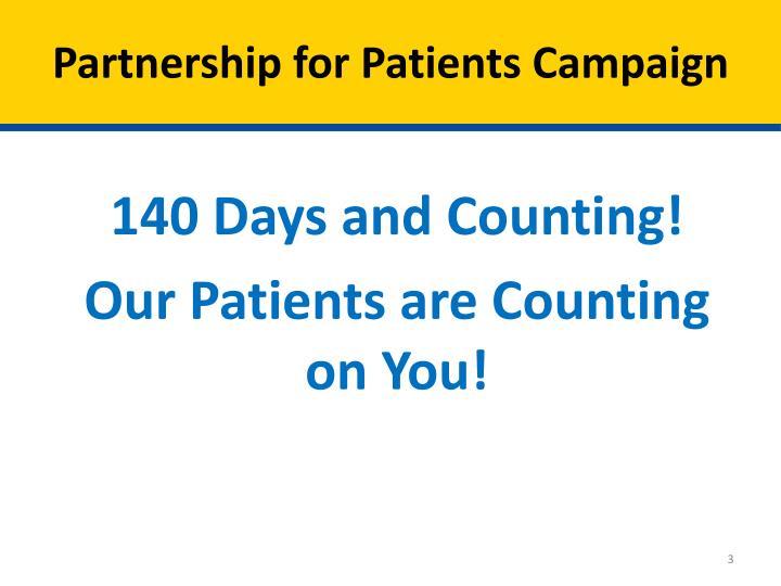 Partnership for patients campaign
