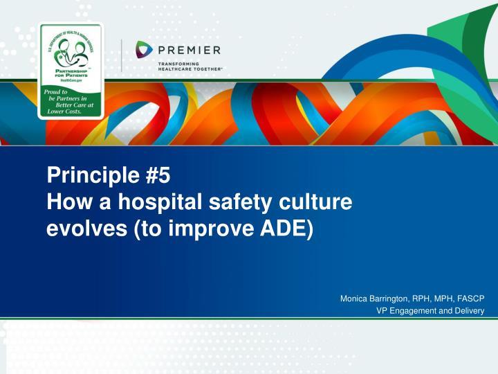 Principle #5