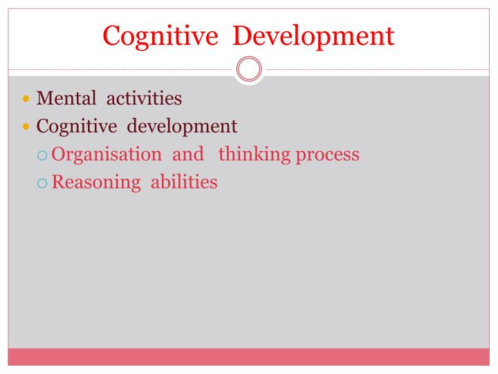 growth of cognitive thinking during adolescence Adolescence - physical & cognitive, socio-emotional physical development in adolescence puberty is the period of several years in which rapid physical growth and psychological changes occur, culminating in sexual maturity.
