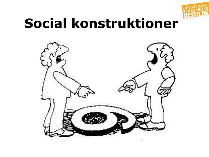 Social konstruktioner