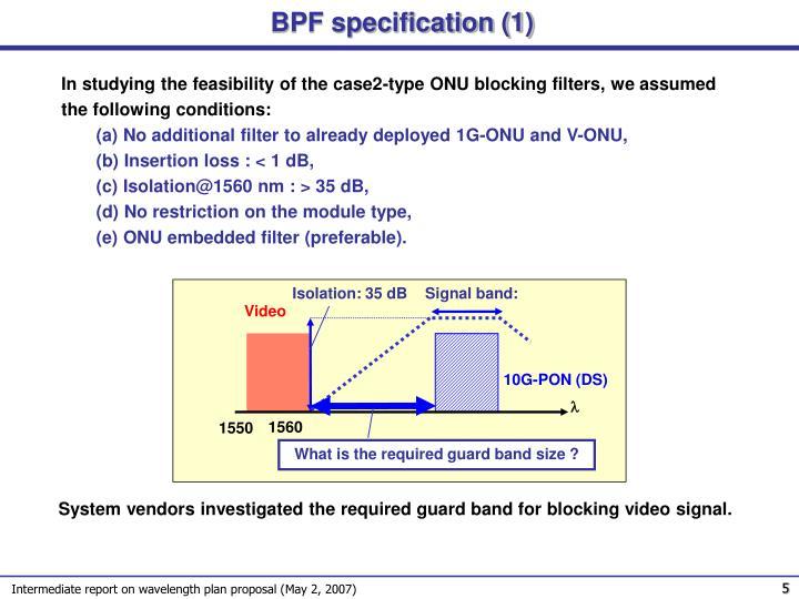 BPF specification (1)