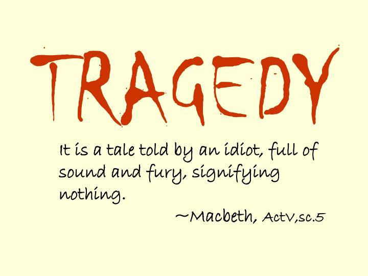 an argument that macbeth was a true shakespearean tragic hero Based on human nature, aristotle's philosophy of tragedy, and current literary criticism of shakespeare's macbeth, the main character, macbeth, is classified as a tragic hero born in 384 bc at stagirus, well known philosopher aristotle was a.