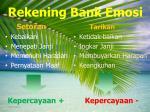 rekening bank emosi