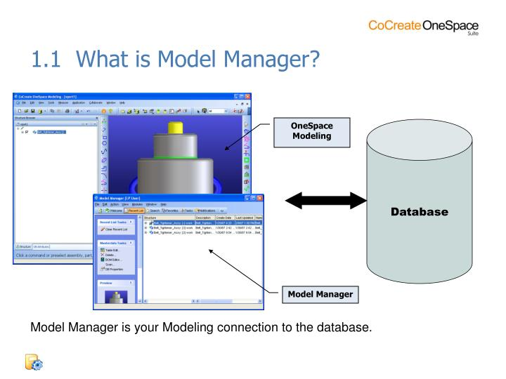 1.1  What is Model Manager?