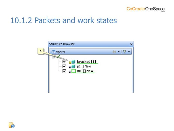 10.1.2 Packets and work states