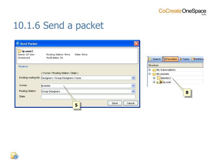 10.1.6 Send a packet