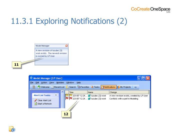 11.3.1 Exploring Notifications (2)