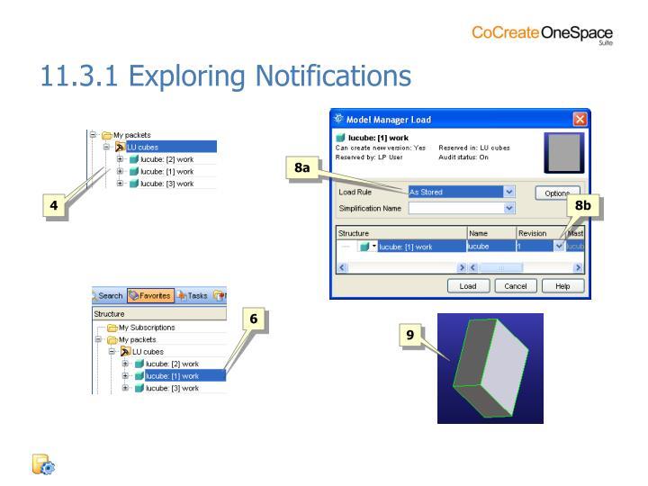11.3.1 Exploring Notifications