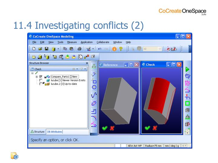 11.4 Investigating conflicts (2)