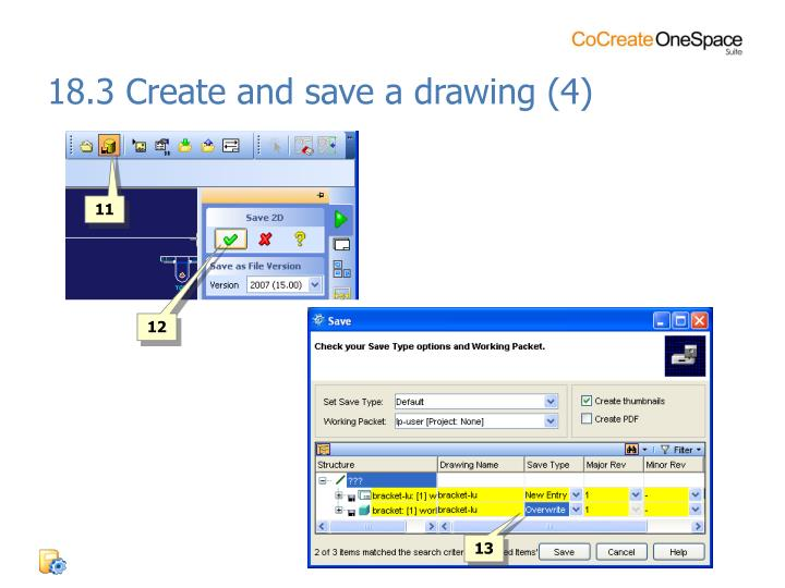 18.3 Create and save a drawing (4)
