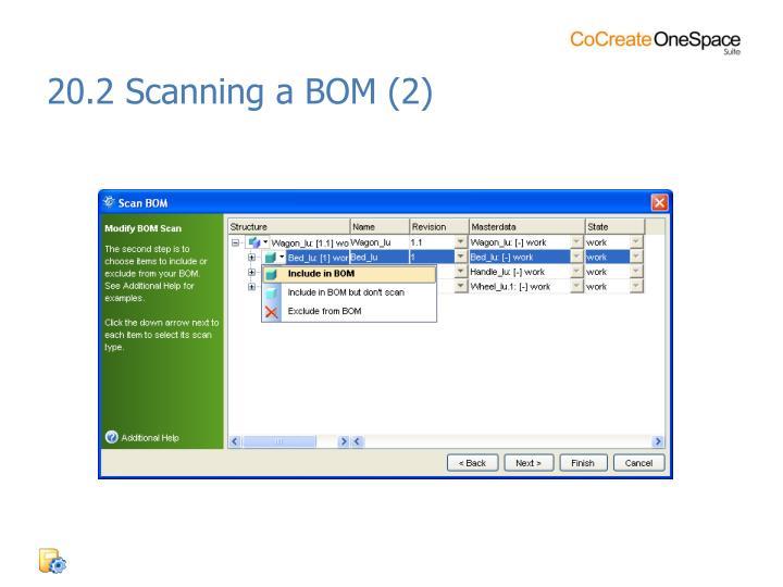 20.2 Scanning a BOM (2)