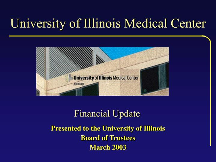 university of illinois medical center n.
