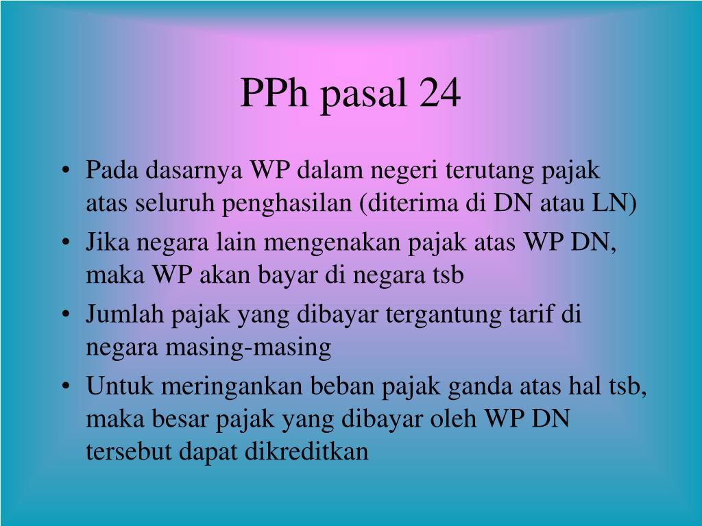 PPT - PPh Pot-Put PPh Pemotongan dan Pemungutan PowerPoint