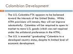 colombian development