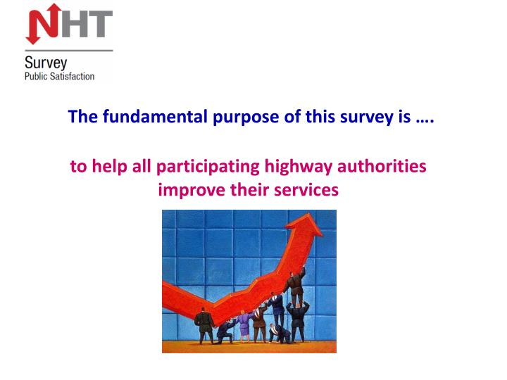 The fundamental purpose of this survey is ….