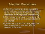 adoption procedures1