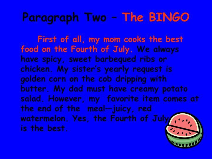bingo bango bongo 5 paragraph essay powerpoint