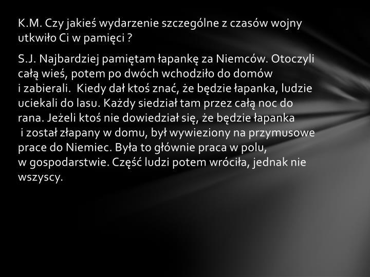 K.M. Czy