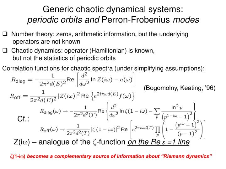 Generic chaotic dynamical systems:
