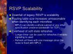 rsvp scalability