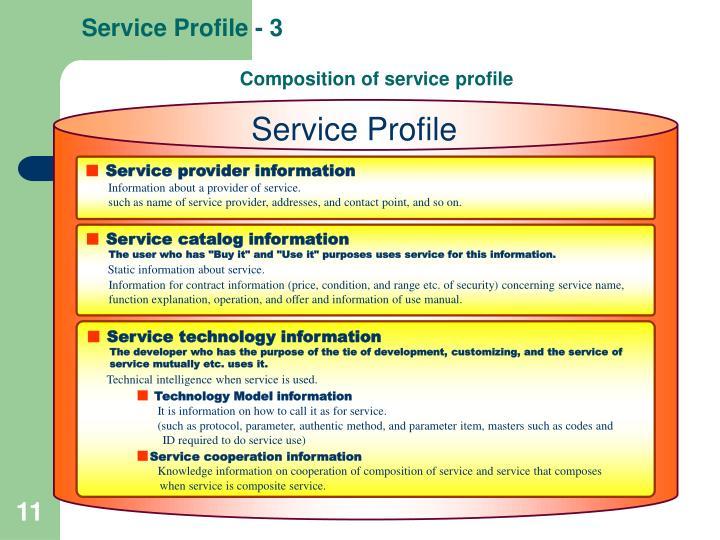Service Profile - 3
