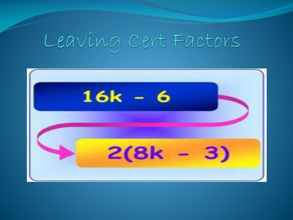 ppt leaving cert factors powerpoint presentation id 4296195