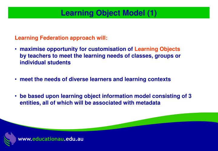 Learning Object Model (1)