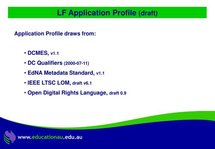 LF Application Profile