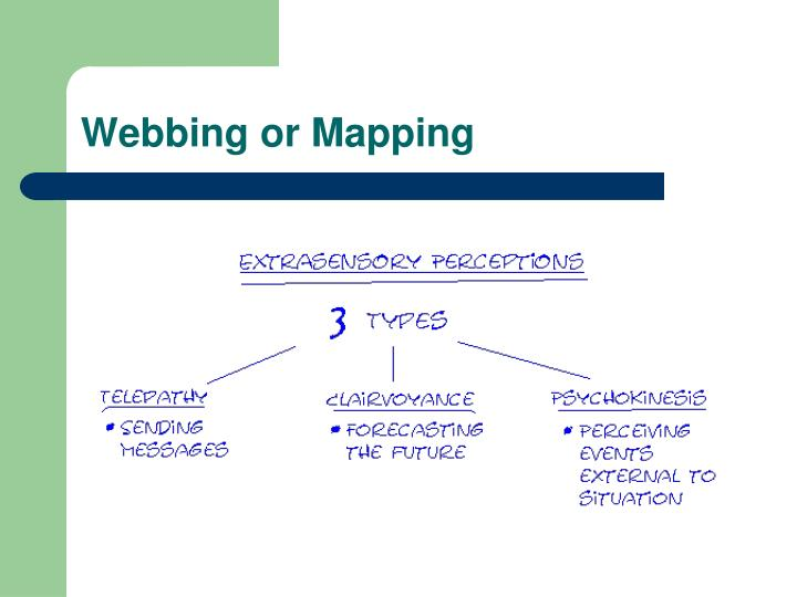 Webbing or Mapping