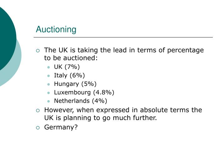 Auctioning