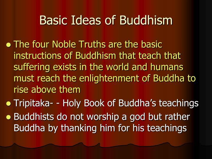 Basic Ideas of Buddhism