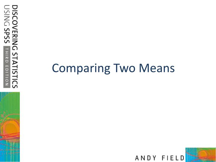 comparing two means n.
