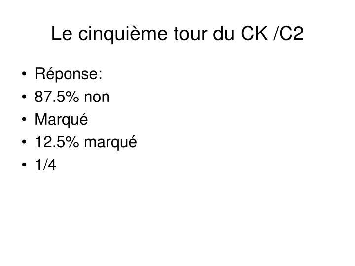 Le cinquième tour du CK /C2
