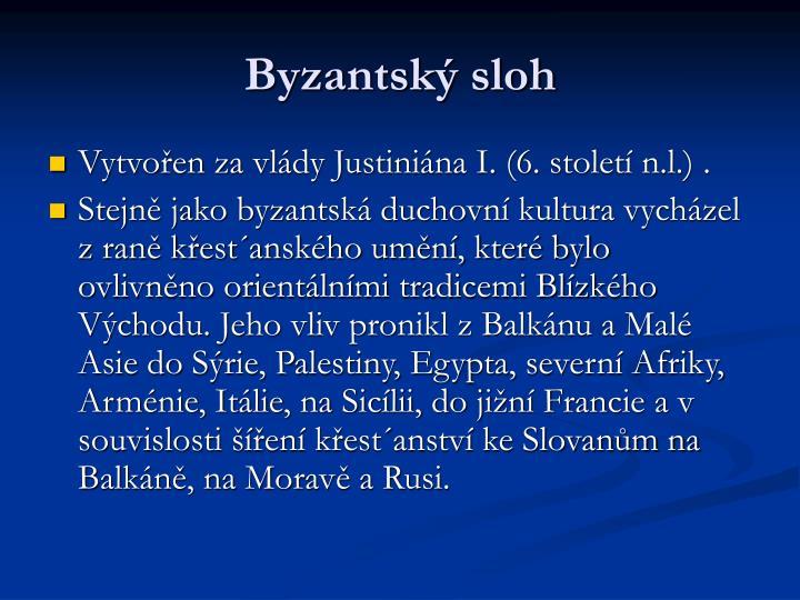 Byzantsk sloh