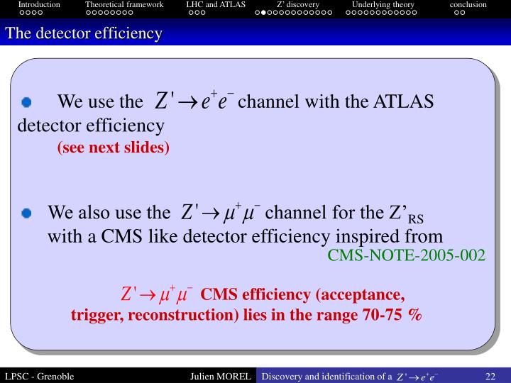 CMS efficiency (acceptance, trigger, reconstruction) lies in the range 70-75 %