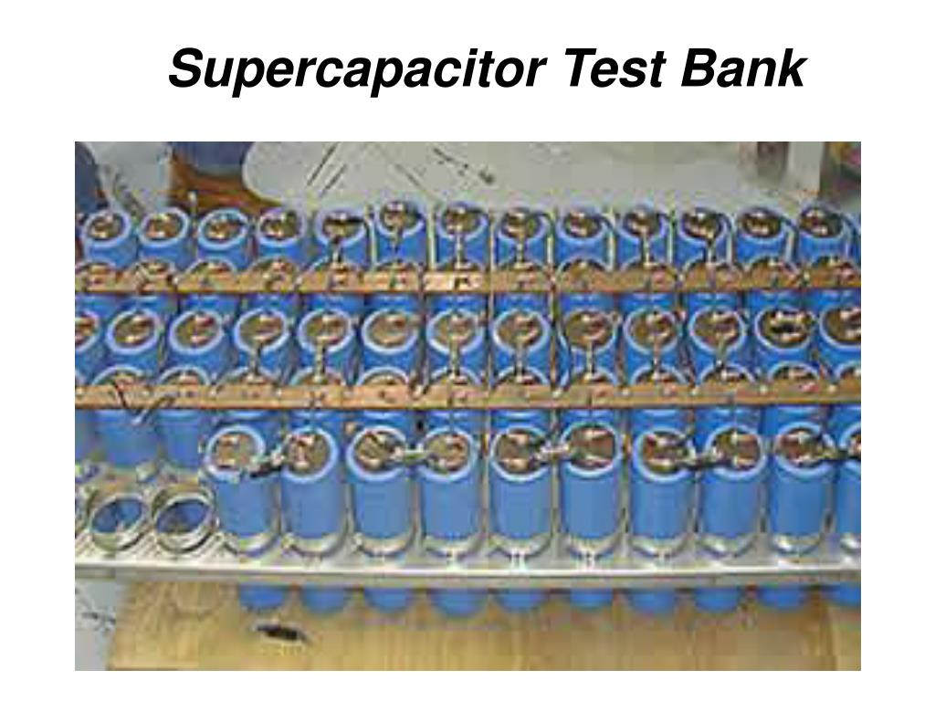 PPT - Supercapacitors for Hybrid and Plug-in Hybrid Electric