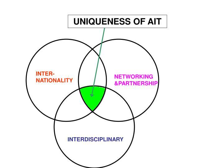 UNIQUENESS OF AIT